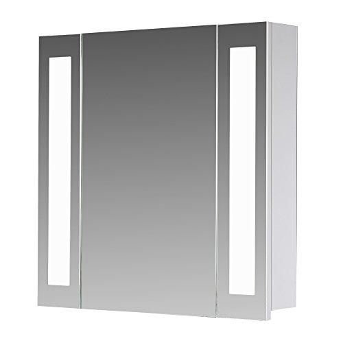 badezimmer spiegelschrank mit beleuchtung alibertschrank. Black Bedroom Furniture Sets. Home Design Ideas