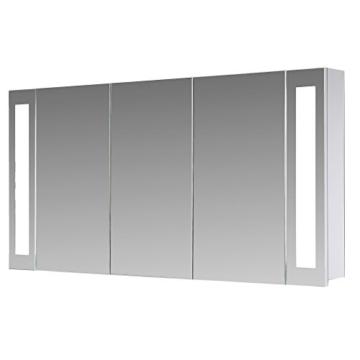 Berühmt Eurosan 3-türiger Spiegelschrank, Integrierte LED-Frontbeleuchtung GG88
